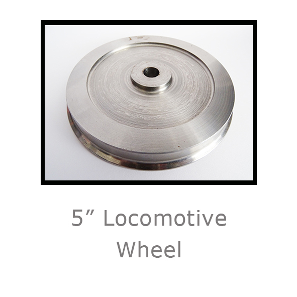 5in Locomotive Wheel