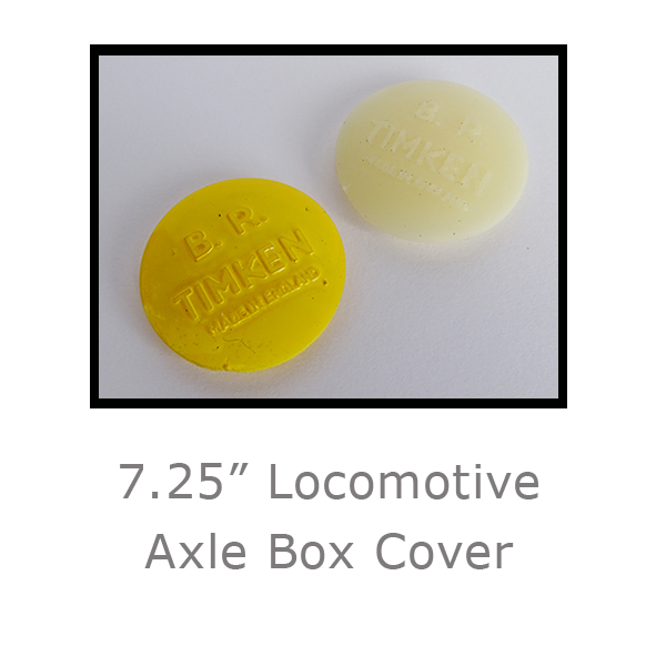 7.25in Locomotive Axle Box Cover