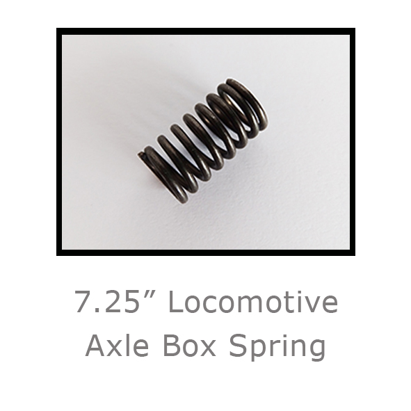 7.25in Locomotive Axle Box Spring