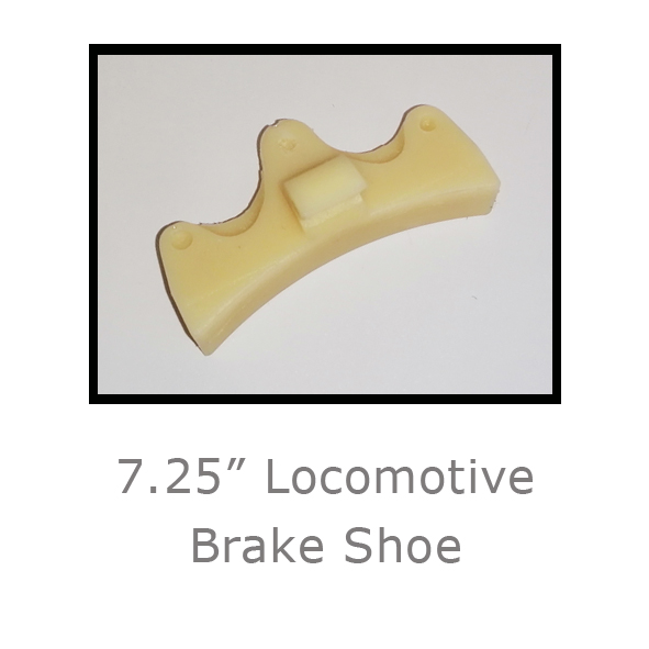 7.25in Locomotive Brake Shoe