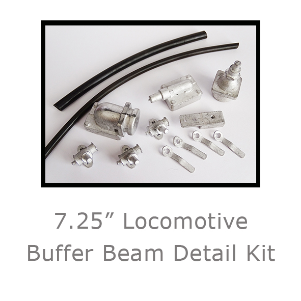 7.25in Locomotive Buffer Beam Detail Kit