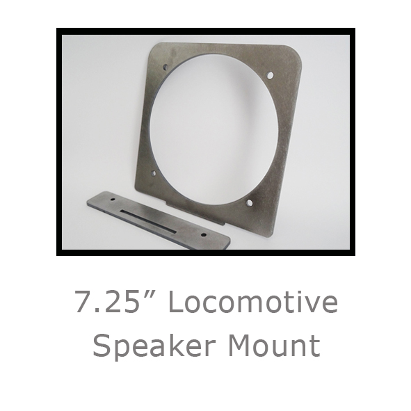 7.25in Locomotive Speaker Mount