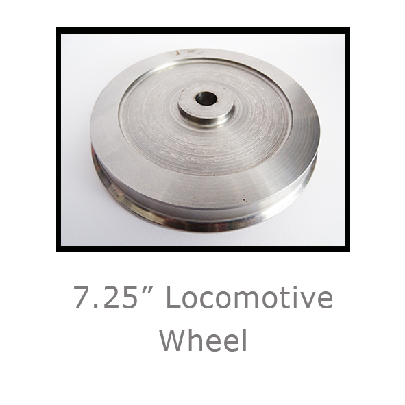7.25in Locomotive Wheel