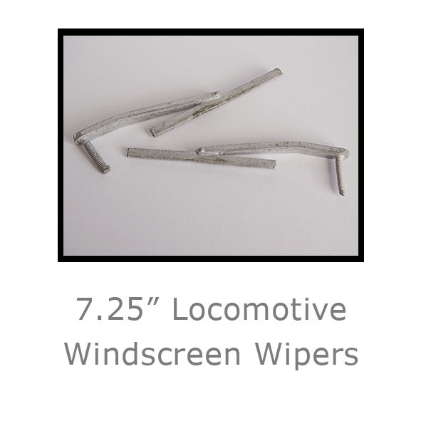 7.25in Locomotive Windscreen Wipers
